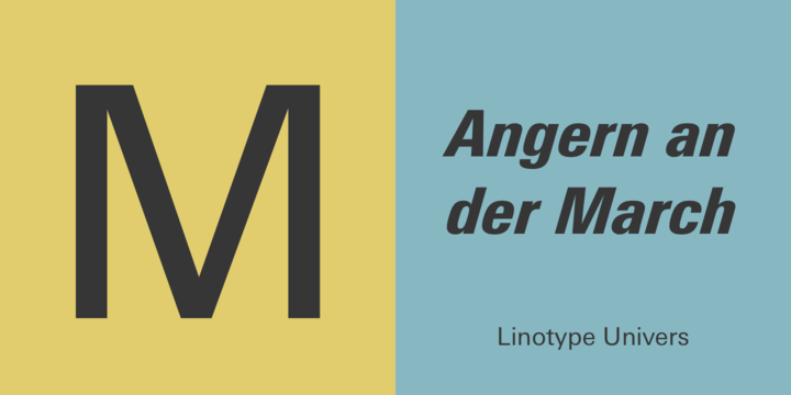 Linotype Univers Font Family - iFonts xyz