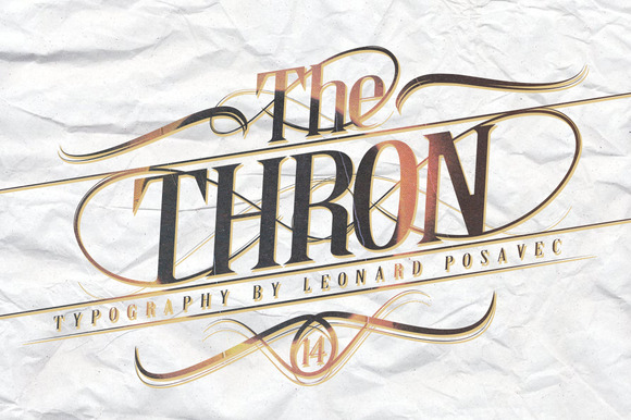 Thron / Font