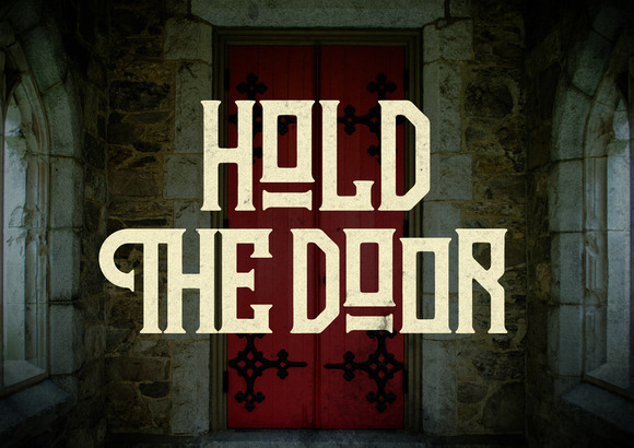 Hodor Display Font