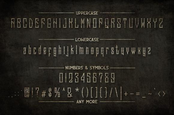 Sadis Typeface+Extras