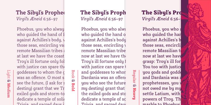 Sybilla Pro Font Family