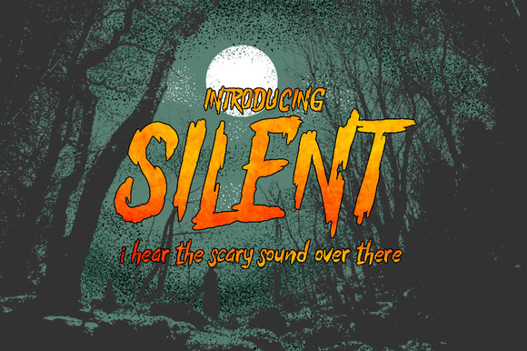 The Silent Typeface