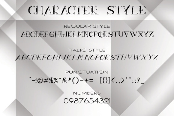 ARCHILINE Display Font