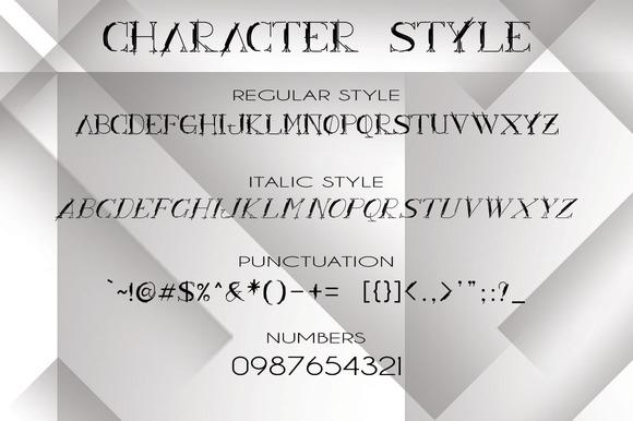 ARCHILINE Display Font