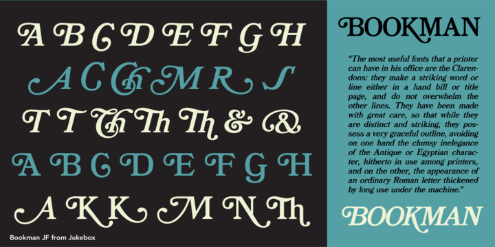 Bookman JF Pro Font Family