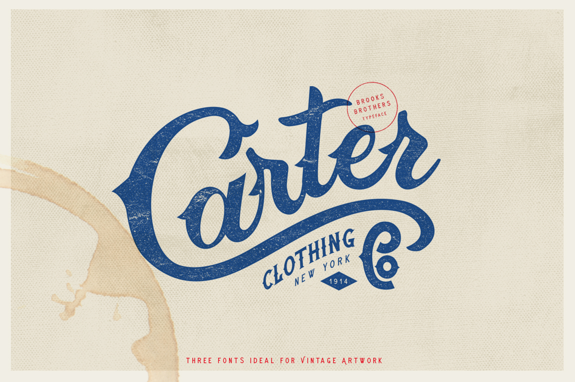 Brooks Brothers Typeface