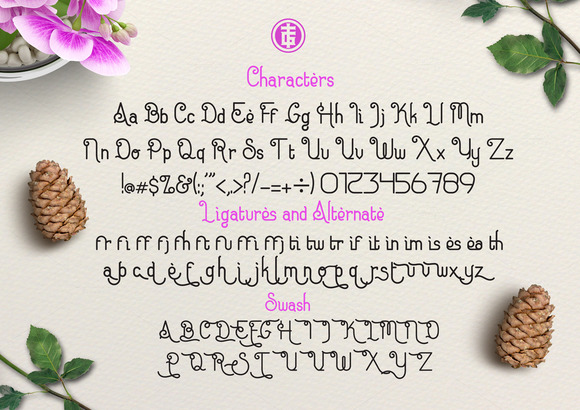 Eugiene Typeface