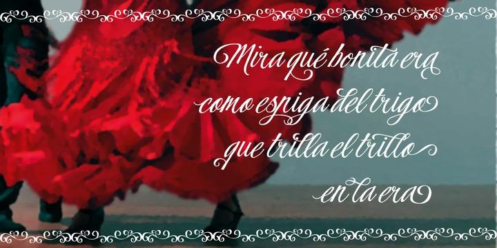 Flamenca Font Family