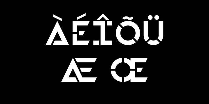 HAZMAT Font Family