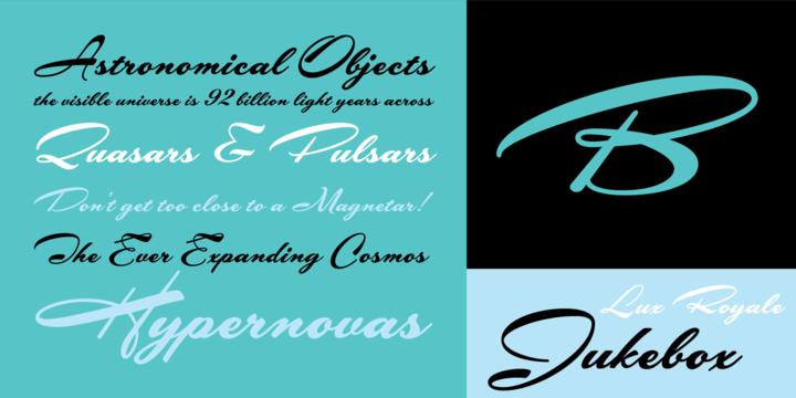 Lux Royale JF Font