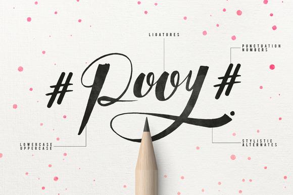 Qoobly Typeface