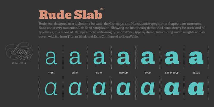 Rude Font Family