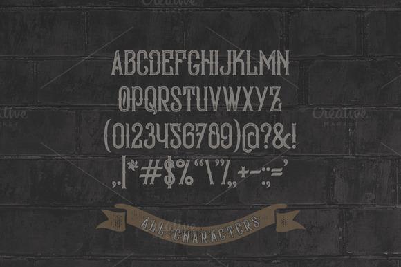 Bald Eagle Typeface