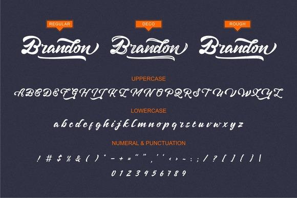 Brandon Script Font