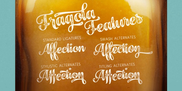 Fragola Font Family