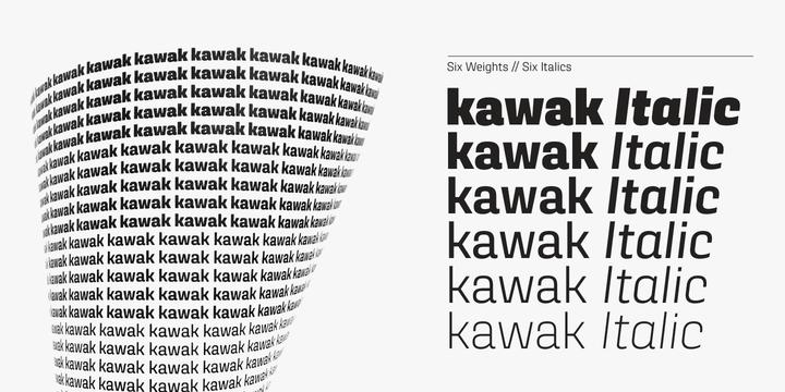 Kawak Font Family