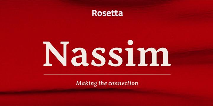 Nassim Font Family - iFonts xyz