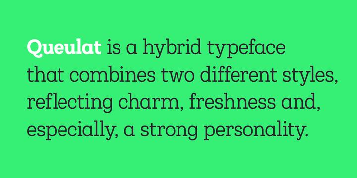 Queulat Condensed Font Family