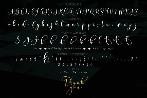 Sleeplesson Script (Update Glyph)