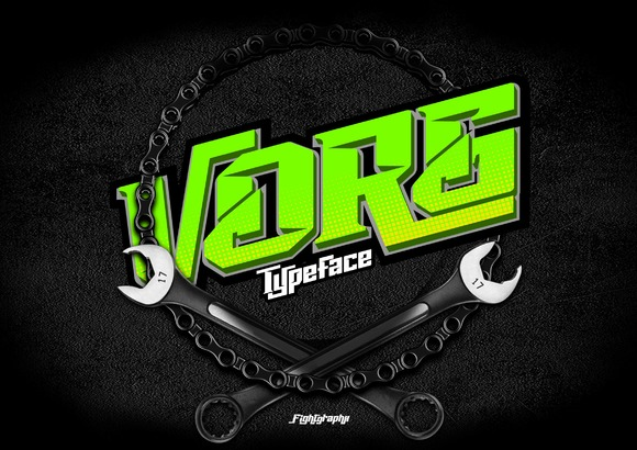 Vorg Typeface