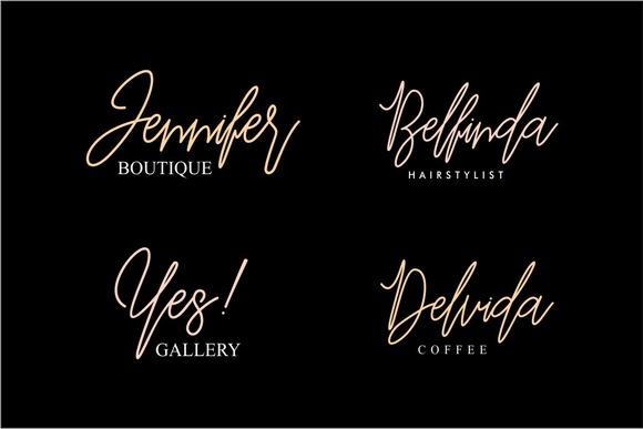Befindisa Script Font