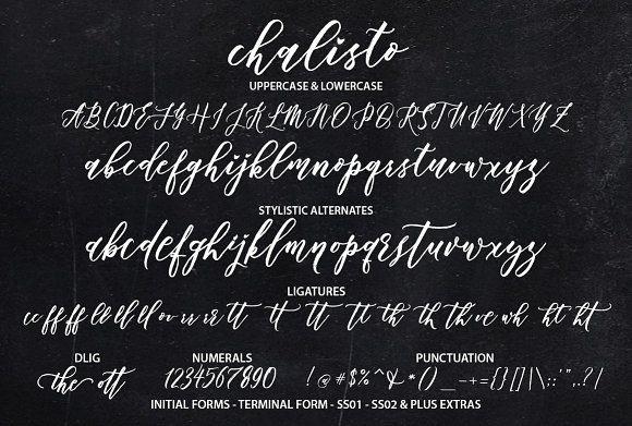 Chalisto Script + Extras