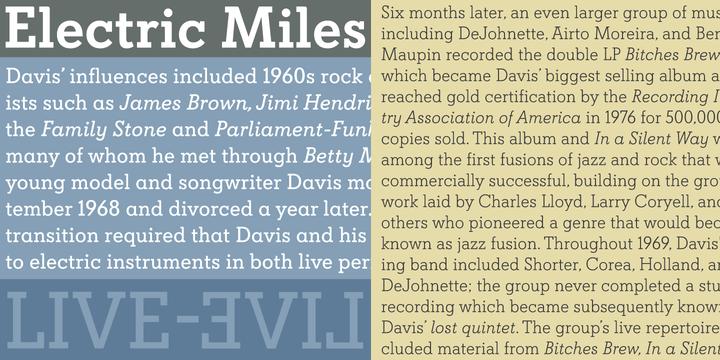 Davis Font Family