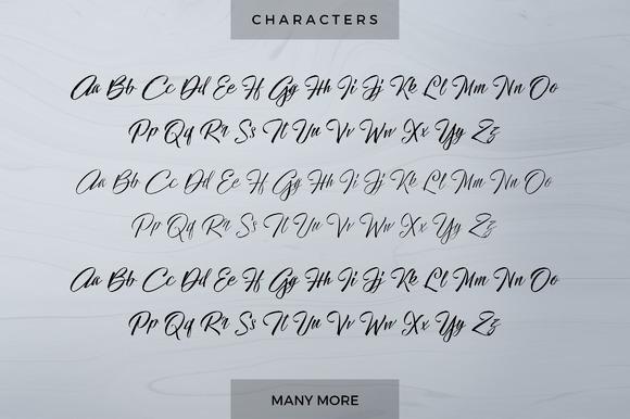 Hallelujah Script Font