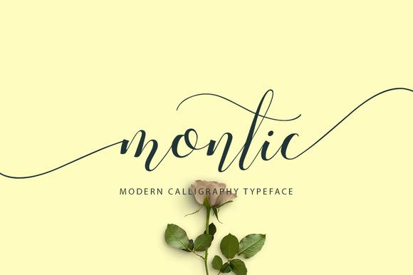 Montic Script Font Ifonts Xyz