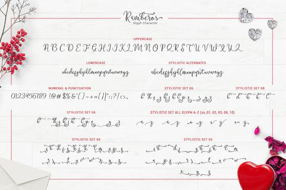 Ramberos Typeface