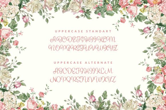 Semesta Typeface Script