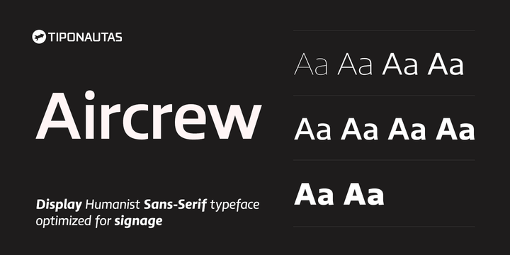 Aircrew Font Family