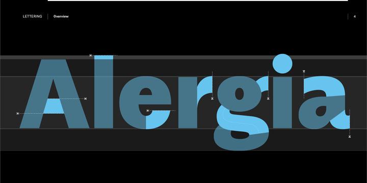 Alergia Grotesk Font Family