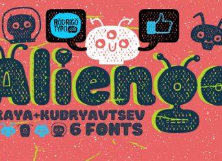 Aliengo Font Family