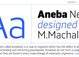 Aneba Neue Font Family