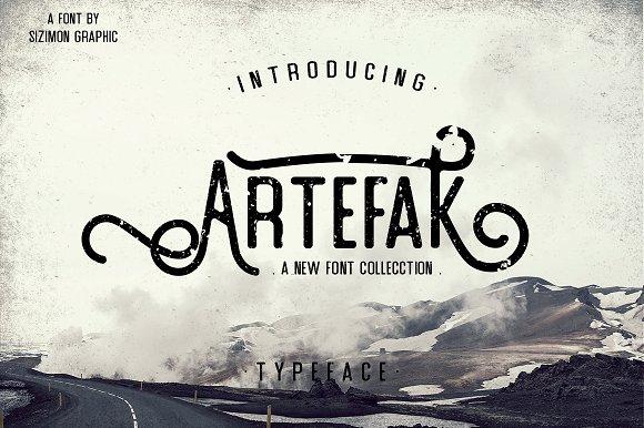 Artefak Typeface