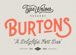 Burtons Display Font