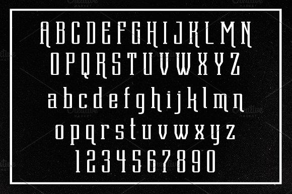 Dentra Typeface