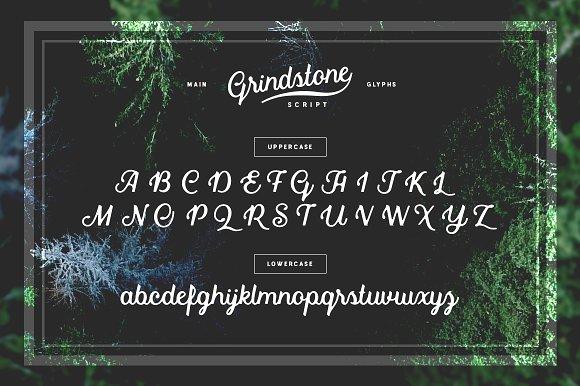 Grindstone Script Font