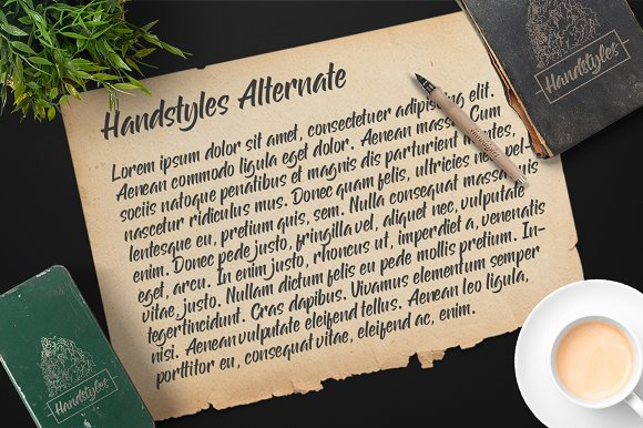 Handstyles Script Font