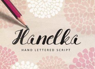 Hanelka Script Font