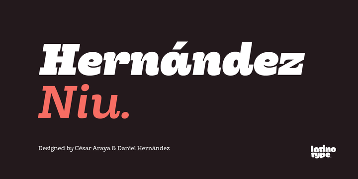 Hernandez Niu Font Family