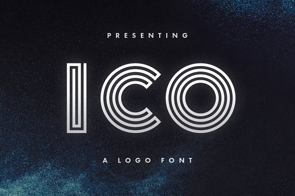 ico - logo font