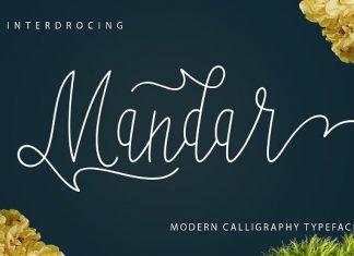 Mandar Script Font