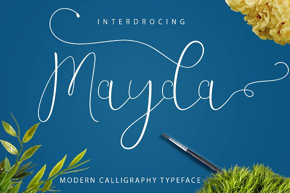 Mayda Script Font