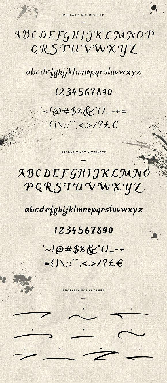 ProbablyNot - brush script