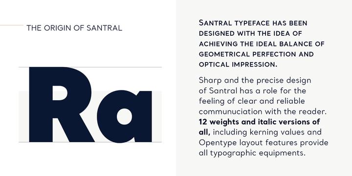 Santral Font Family