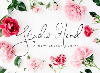Studio Hand - a new handwritten font