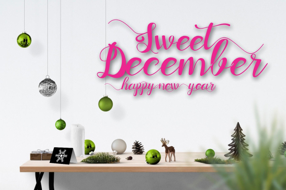 Sweet December FONT Bundle