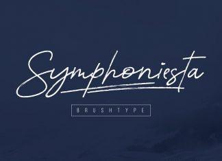 Symphoniesta Brushtype